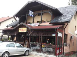 "A picture of the hotel: Restoran i sobe ""Tocak"""