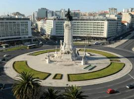 Hotel photo: Luxury apartment, in Centrum of Lisbon, with parking