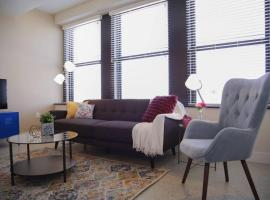Hotel photo: CLASSIC DOWNTOWN 1BR APT IN HISTORIC BLDG W/ VIEWS