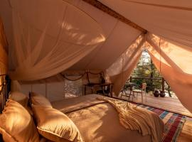 Hotel Photo: Plage Cachée - Glamping