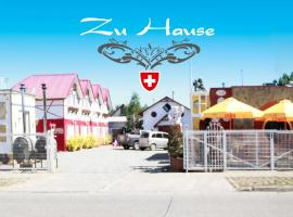A picture of the hotel: Cabañas Zu Hause