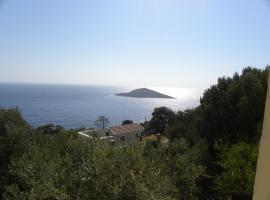 Hotel Photo: Country house with beautiful view in Aegean sea