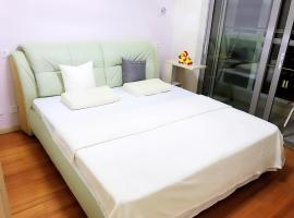 Hotel fotografie: Summer of Qianyu (High-grade apartment, near Shi Lao Ren Hai Shui Yu Chang, Jinshi Damuzhi Square)