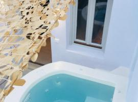 A picture of the hotel: The Muse of Santorini Private Jaccuzzi Suite