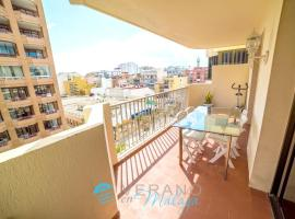 A picture of the hotel: apartment with 3 bedrooms in fuengirola, with wonderful city view, furnished ...
