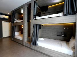Hotel foto: 8 Bunk Bed Mixed Dormitory Room En suite Bathroom and Balcony