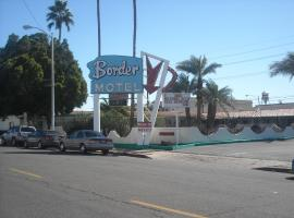 Border Motel Calexico Calexico USA