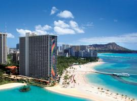 Hilton Hawaiian Village Waikiki Beach Resort Honolulu USA