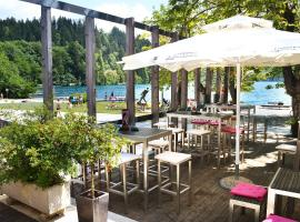 Hotel near Lake Bled