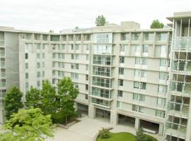 Simon Hotel at Simon Fraser University Burnaby Canada