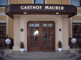 Hotel photo: Maurer Gasthof-Vinothek