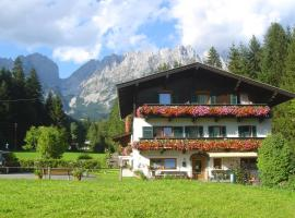 Pension Apartment Steiner Ellmau Austria