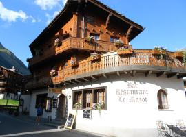 Hotel photo: Hotel-Restaurant le Mazot