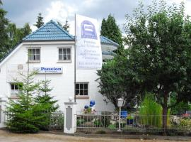 Hotel near Lubeck Blankensee airport : Pension Am Klinikum