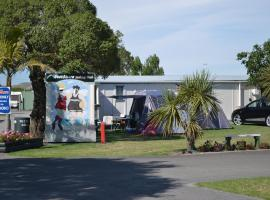 Hotel near Napier airport : Affordable Westshore Holiday Park Napier