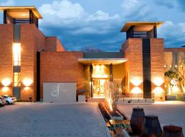 Hotel near Polokwane International airport : Fusion Boutique Hotel