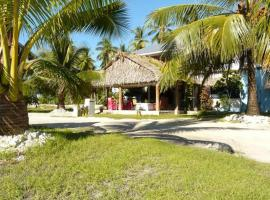Hotel near  Bonriki Intl  airport:  Lagoon Breeze Lodge