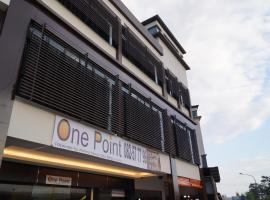 Hotel near Kuching Intl airport : One Point Hotel