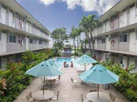 Hotel near Honolulu Intl airport : Pacific Marina Inn