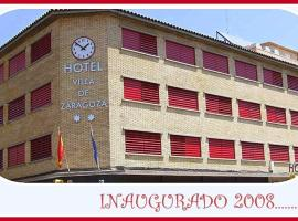 Hotel photo: Hotel Villa de Zaragoza