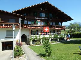 Pension Hotel Restaurant Sunnmatt Aeschi Switzerland