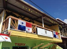 Hostal Caribbean Lodge Bocas del Toro, Isla Colon 巴拿马