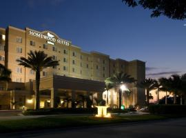 Hotel near  Miami Intl  airport:  Homewood Suites Miami Airport/Blue Lagoon