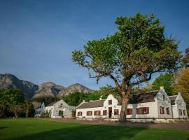 Plaisir de Merle Manor House Simondium South Africa