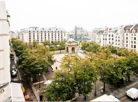 Central Duplex with Romantic Views Paris France