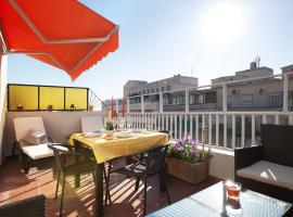 Sunny Attic Urquinaona Apartment برشلونة إسبانيا