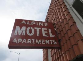 Alpine Motel Las Vegas USA