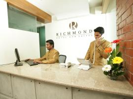 Hotel near  Zia Intl  airport:  Richmond Hotel & Suites