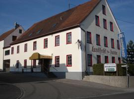 Landhotel zur Kanne Neresheim Germany