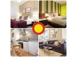 Lodging Apartments Sagrada Familia Barcelona Spain