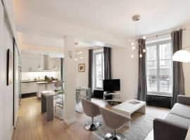 Sleek Apartments near Saint Germain Paris France
