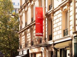 Five Boutique Hotel Paris Quartier Latin Paříž Francie