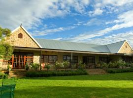 Hotel near  Bloemfontein Intl  airport:  Olive Hill Country Lodge