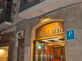 Hostal Paris Barcelona Spain