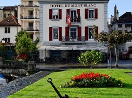 Hotel Photo: Romantik Hotel Mont Blanc au Lac