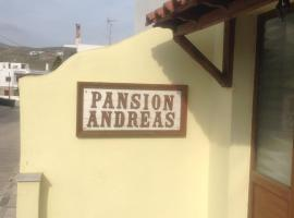 Pension Andreas Tinos Town Greece