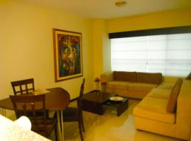 Hotel near Jose Joaquin De Olmedo Intl airport : Fully furnished luxury Suite in Torre Sol II building with Security 24/7