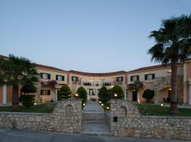 Hotel near  Dionysios Solomos  airport:  Elanthi Village Apartments