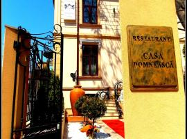 Hotel photo: Hotel Casa Domneasca by Turquoise Concept