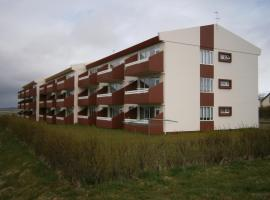 Hotel near Egilsstadir airport : Midgardur Apartments