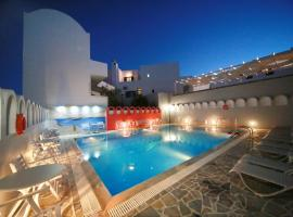 Blue Sky Hotel Fira Greece