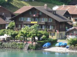 Lake Lodge Hostel Iseltwald Switzerland