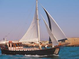 Yacht Charter-Traditional Motor Sailer 51FT Heraklio Town Greece