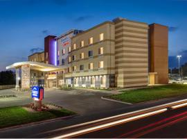 Hotel near  Port Columbus Intl  airport:  Fairfield Inn & Suites by Marriott Columbus Airport