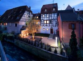 Hotel Le Colombier Suites Colmar France