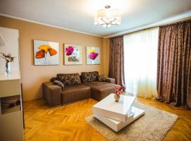 Quality apartment in a green area Lviv Ukraine